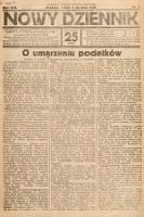 Nowy Dziennik. 1930, nr3