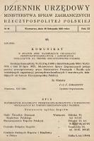 Dziennik Urzędowy Ministerstwa Spraw Zagranicznych Rzeczypospolitej Polskiej. 1929, nr10