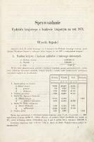 [Kadencja III, sesja I, al.1] Alegaty do Sprawozdań Stenograficznych z Pierwszej Sesyi Trzeciego Peryodu Sejmu Galicyjskiego z roku 1870. Alegat1