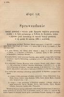 [Kadencja IV, sesja III, al.166] Alegata do Sprawozdań Stenograficznych z Trzeciej Sesyi Czwartego Peryodu Sejmu Krajowego Królestwa Galicyi i Lodomeryi wraz z Wielkiem Księstwem Krakowskiem z roku 1880. Alegat166