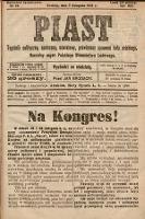 Piast : tygodnik polityczny, społeczny, oświatowy, poświęcony sprawom ludu polskiego : Naczelny organ Polskiego Stronnictwa Ludowego. 1926, nr46