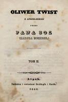 Oliwer Twist. T.2 - Dickens, Charles (1812-1870)