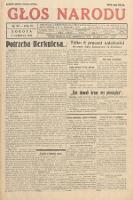 Głos Narodu. 1933, nr160