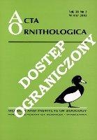 Diet of swifts (Apodidae) and swallows (Hirundinidae) during the breeding season in South African grassland - Kopij, Grzegorz
