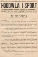 Hodowla i Sport : dwutygodnik poświęcony zagadnieniom hodowli koni oraz sportów konnych. 1928, nr10