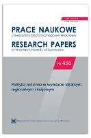 Polityka rodzinna w strategiach rozwiązywania problemów społecznych w powiatach Małopolski - Peter-Bombik, Katarzyna