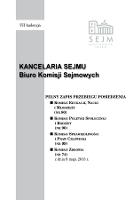 Pełny Zapis Przebiegu Posiedzenia Komisji Edukacji, Nauki i Młodzieży (nr80) z dnia 8 maja 2013 r. - Kancelaria Sejmu Biuro Komisji Sejmowych