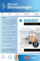 Nowa Stomatologia : organ prasowy Polskiego Towarzystwa Stomatologii Dziecięcej : press organ of the Polish Society of Pediatric Dentistry. R. 21, 2016, nr 4