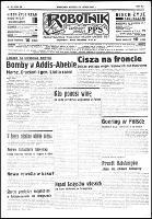 Robotnik : organ Polskiej Partyi Socyalistycznej., R.43 , nr 55 (21 lutego 1937)