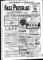 Nasz Przegląd : organ niezależny, R.12 (1934), nr 63 (4 marca)