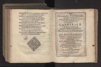Monument. Parentation. Super Exequias [...] Catharinae Leuschnerin [...] Georgii Gerhardi [...] Conjugis [...] / Ab amicis [...] dictata.
