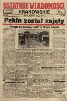 Ostatnie Wiadomości Krakowskie. 1937, nr211