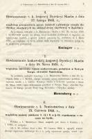 Rozporządzenia Władz Krajowych dla Królestwa Galicyi i Bukowiny. 1861, cz. 1