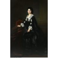 Portret Julii Bock - Simmler, Józef (1823-1868)