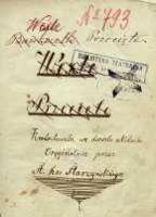 Wexle (Bankocetle) przecięte. Krotochwila we dwóch aktach. Oryginalnie przez St. hr. Starzyńskiego - Starzyński, Stanisław