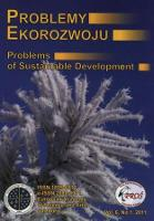 Problemy Ekorozwoju : studia filozoficzno-sozologiczne Vol. 6, Nr 1, 2011