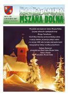 Nasza Gmina Mszana Dolna. 2007, nr 4 (grudzień) = nr 30