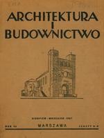 Architektura i Budownictwo 1927 nr 8-9