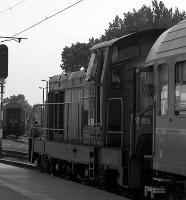 Odgłos spalinowozu na peronie Dworca Głównego PKP w Lublinie - Sztajdel, Piotr. Montaż