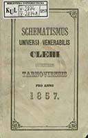 Schematismus Universi Vener. Cleri Dioeceseos Tarnoviensis