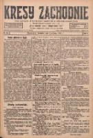 Kresy Zachodnie: pismo poświęcone obronie interesów narodowych na zachodnich ziemiach Polski 1928.06.03 R.6 Nr127