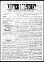 Kurjer Codzienny, R.22, nr 119 (1 maja 1886)