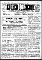 Kurjer Codzienny, R.22, nr 117 (29 kwietnia 1886)