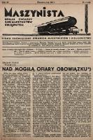 Maszynista : organ Związku Zaw. Maszynistów Kolejowych. 1939, nr2