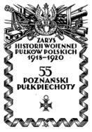 Zarys historji wojennej 55-go poznańskiego pułku piechoty - Jasionek Stefan