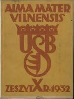 Alma Mater Vilnensis 1932, z. 10