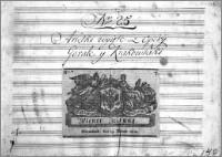 Arietki wycięte z Opery Górale y Krakowiaki - Stefani, Jan (1746-1829)