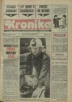 Kronika. Tygodnik Polskiej Zjednoczonej Partii Robotniczej. Bielsko-Biała, 1986, R. XI, Nr 21 (503)