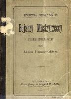 Bojarzy Międzyrzeccy : studium etnograficzne - Pleszczyński, Adolf (1841-1925)