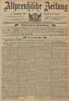 Altpreussische Zeitung, Nr. 301 Freitag 23 Dezember 1892, 44. Jahrgang
