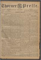 Thorner Presse 1897, Jg. XV, Nro. 8 + Beilage