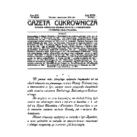 Gazeta cukrownicza R. 37, t. 67 nr 28 (1930) - Stowarzyszenie Inżynierów i Techników Przemysłu Rolnego i Spożywczego.