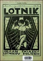Lotnik 1927 t. VI nr 1