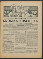 Krakowska Kronika Kościelna R. 2, nr 10 (1922)