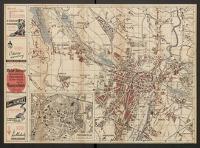Plan stołecznego miasta Poznania