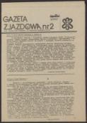 Gazeta Zjazdowa, nr 2 - brak autora