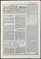 Gazeta Mazowsza. 2 WZD, nr 1 - brak autora