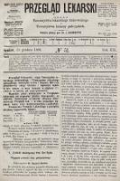 Przegląd Lekarski : organ Towarzystwa lekarskiego krakowskiego i Towarzystwa lekarzy galicyjskich. 1880, nr51
