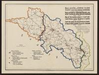 Mapa obozów na Górnym i Dolnym Śląsku podczas okupacji niemieckiej od roku 1939 - do 1945
