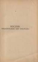 Rocznik Wielkopolskiej Izby Rolniczej w Poznaniu na rok 1922