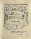 """Biszkopt : dwutygodnik harcerski wydawany przez zastęp """"Lisów"""" II Pl. [1925], nr 1 (marzec)"""