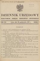 Dziennik Urzędowy Kuratorium Okręgu Szkolnego Lwowskiego. 1937, nr9