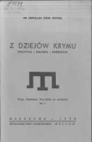 Z dziejów Krymu. Polityka - Kultura - Emigracja - Soysal, Abdullah Zihni