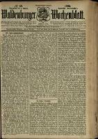 Waldenburger Wochenblatt, Jg. 39, 1893, nr 62
