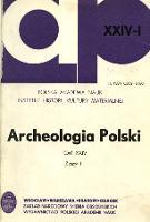 Archeologia Polski. T. 24 (1980) Z. 1, Recenzje - Bukowski, Zbigniew (1931- ). Rec.