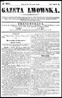 Gazeta Lwowska, R.46, nr 225 (30 września 1856)